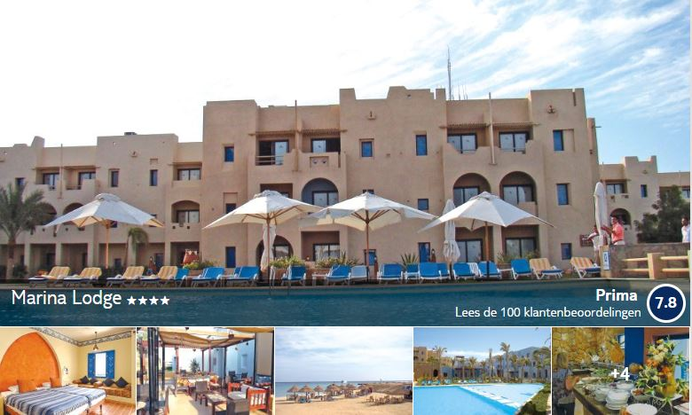 Marina Lodge Marsa Alam Egypte