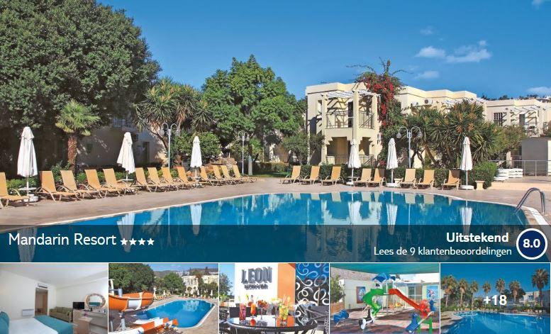 Bodrum hotel Mandarin Resort