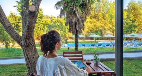 Griekenland Sani Woods bungalow