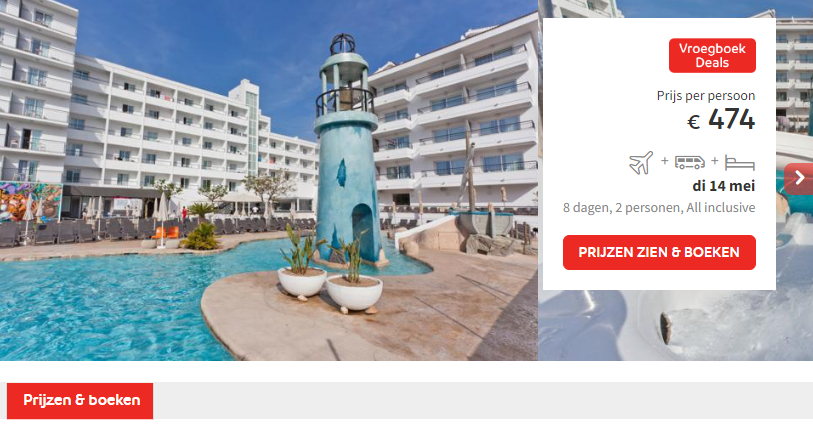 Prijs Hotel ALEGRIA Pineda Splash