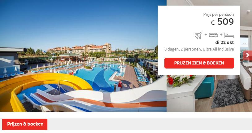 Prijs Hotel Luna Blanca Resort & Spa