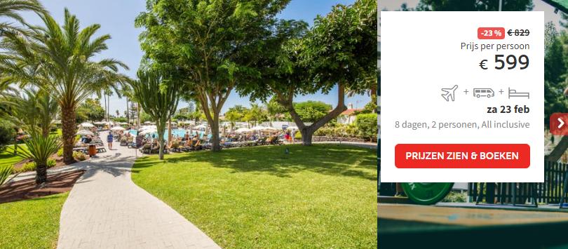 Prijs Hotel Occidental Margaritas