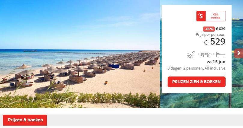 Prijs The Three Corners Fayrouz Plaza Beach Resort
