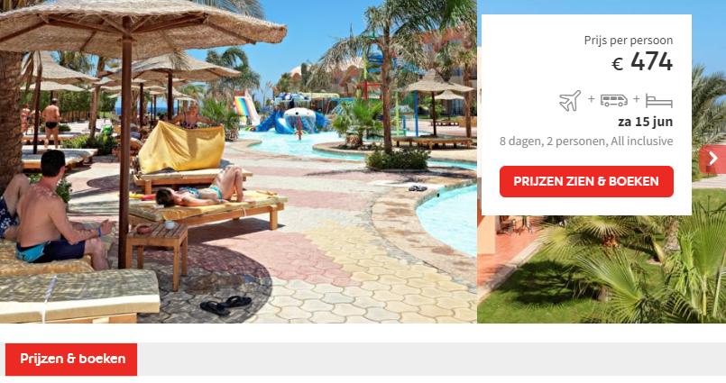 Prijs The Three Corners Sea Beach Resort