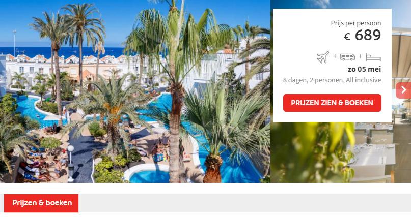 Prijs Lagos de Fanabe Beach Resort