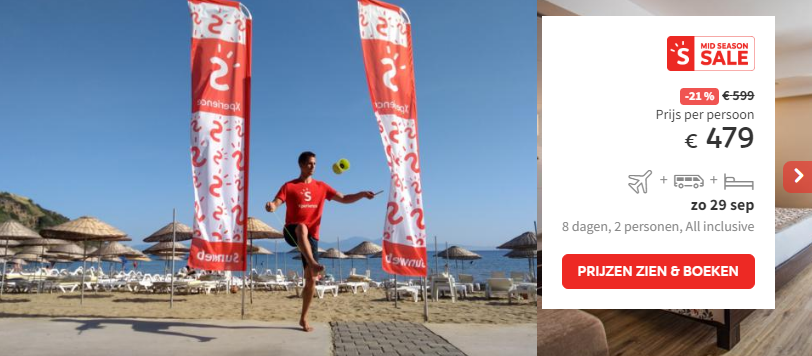Prijs Xperience Aria Claros Beach & Spa Resort